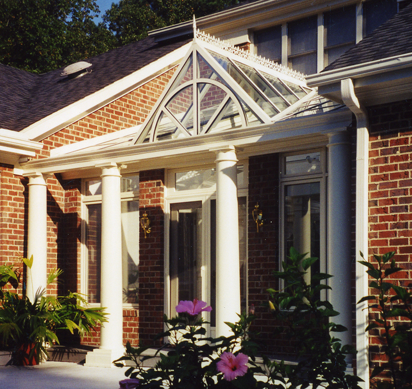 Canopy with a dormer