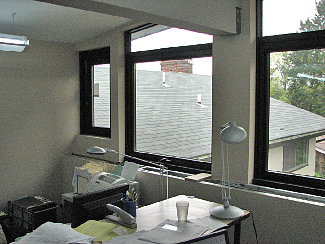 Complete glazing package.
