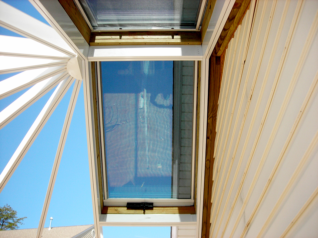 Straight Eave Double Pitch Bull Nose End Conservatory