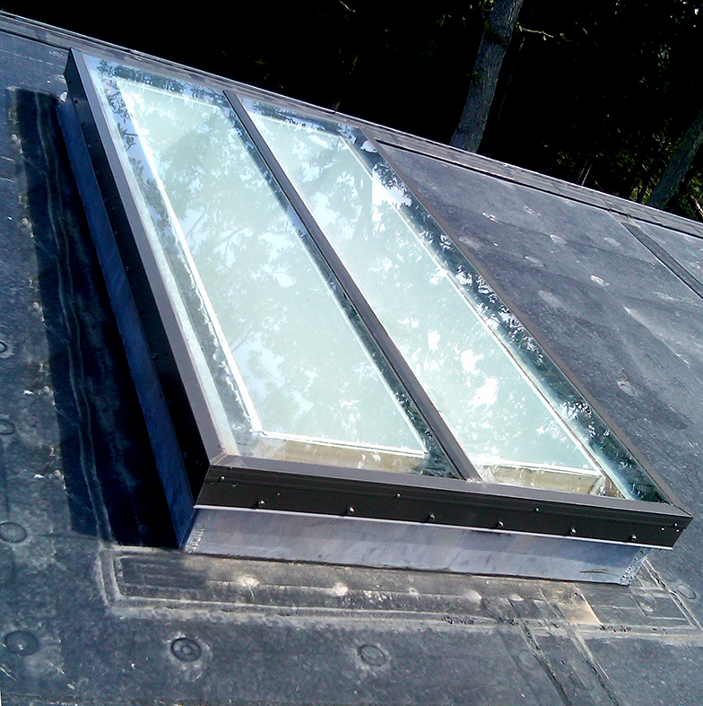 Single slope skylights