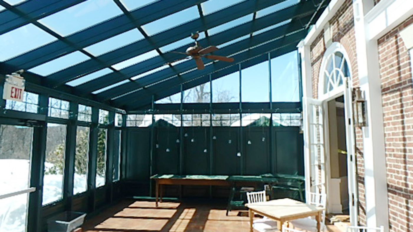 Straight Eave Lean To Conservatory
