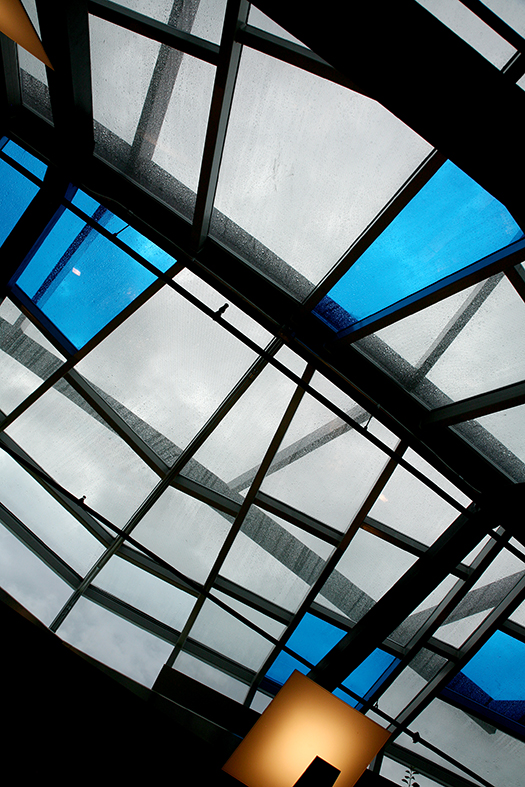 Butterfly garden skylight