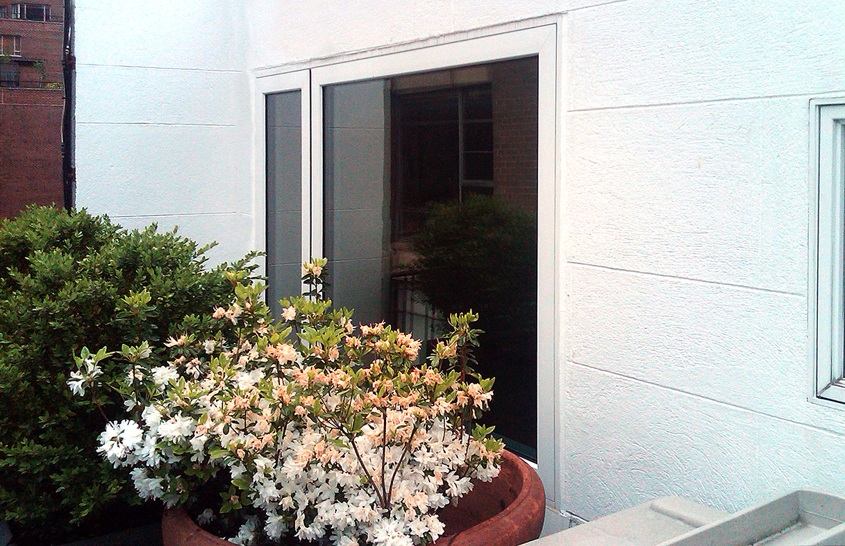 Mulled window system including casement and awning windows.