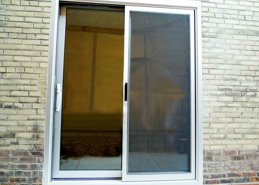 Sliding glass door, awning window and mulled window system