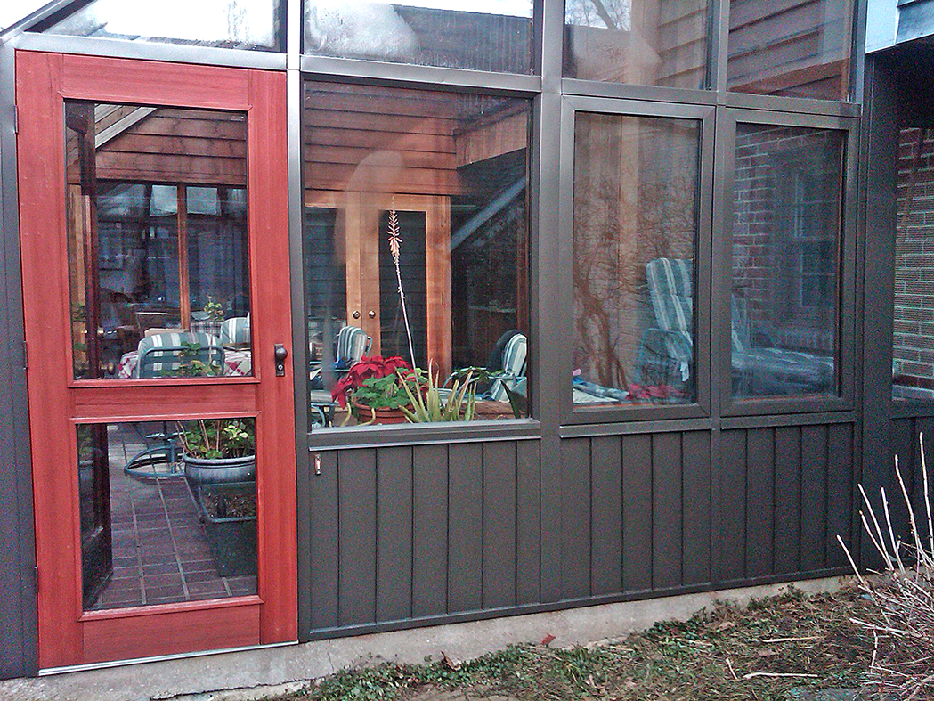Sunroom replacement glass.