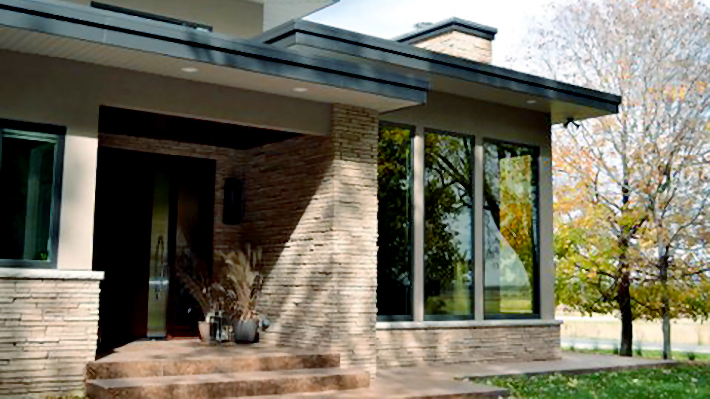Fixed windows using the mulled window system with View dynamic electrochromic glazing.
