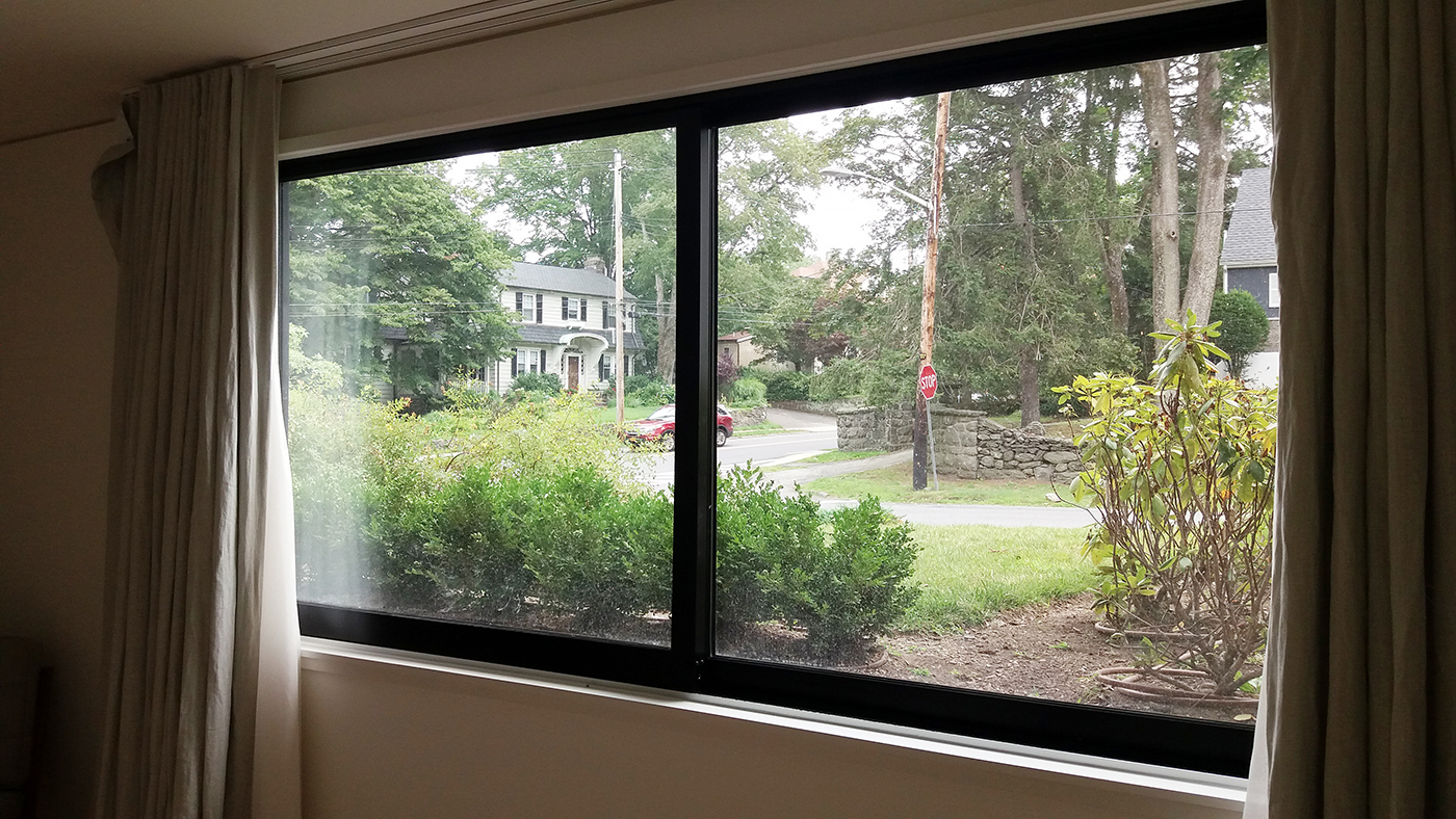 Dual-Track Sliding Door System, Dual-Track Sliding Window System and Fixed Windows using Mulled Window System