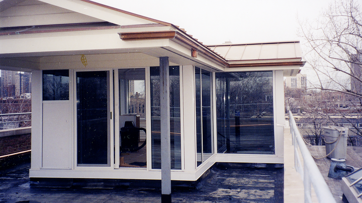 Fixed Windows with Out-Swing Terrace Door and Dual-Track Sliding Glass Windows