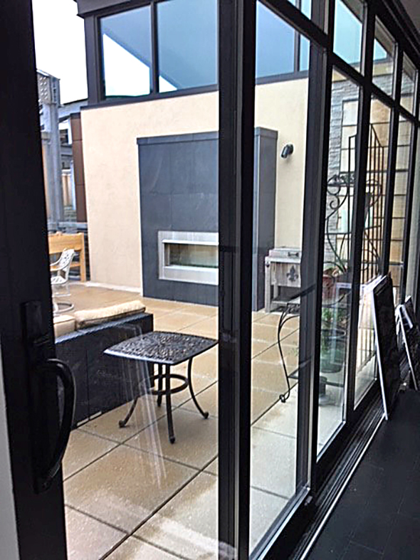 Sliding glass doors and folding glass walls/bifold doors.
