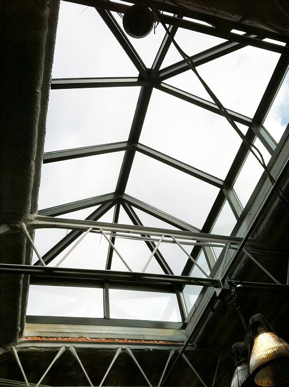 Skylights are the best way to leave in natural lighting.  One straight eave, double pitch lantern skylights including two hip ends installed in Connecticut.
