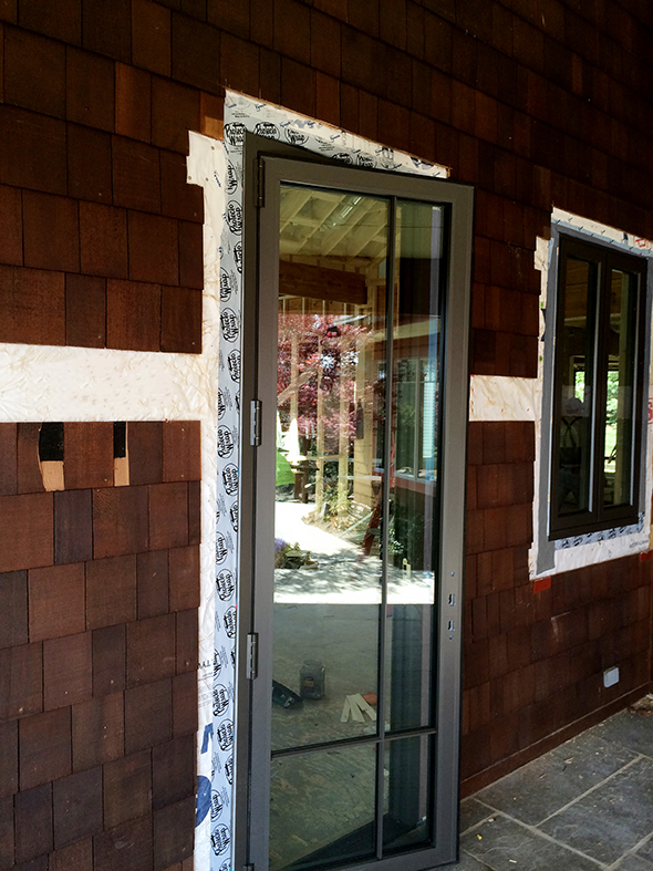 Fixed Windows and Out-Swing French Terrace Door
