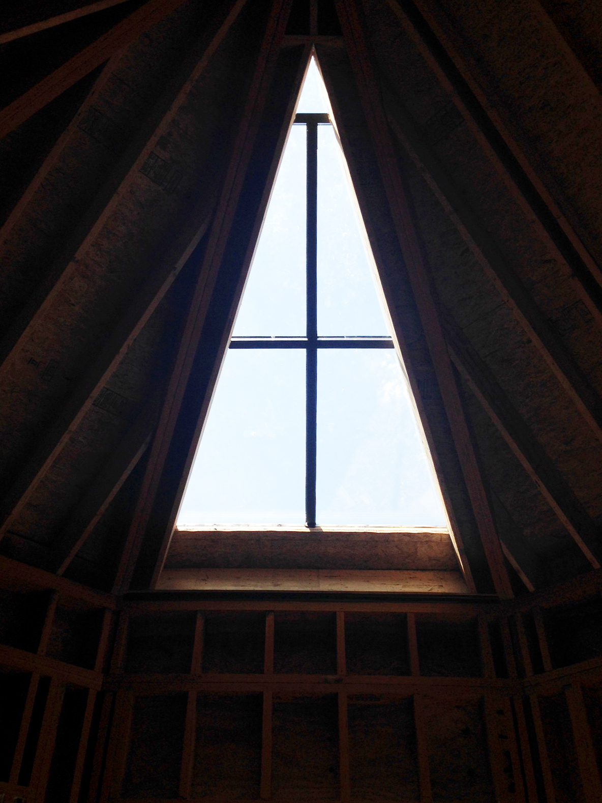 Curb mount skylight