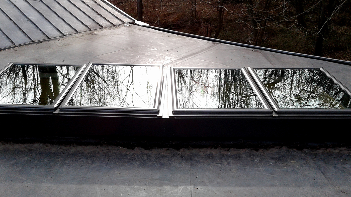 Operable skylight and curb mount skylight