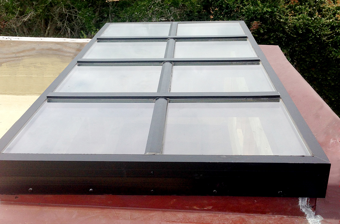 Private residence: Curb mount skylight