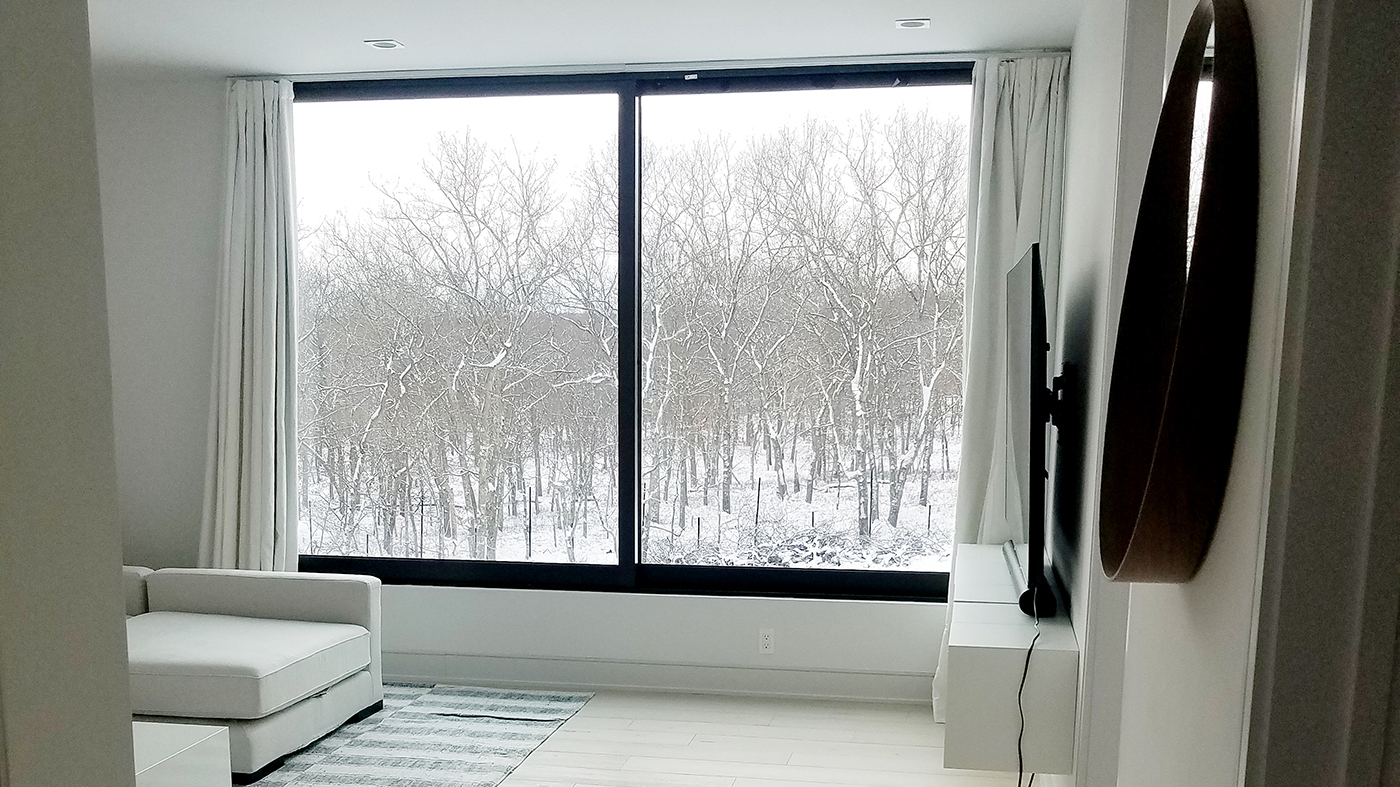 Sliding windows and terrace doors