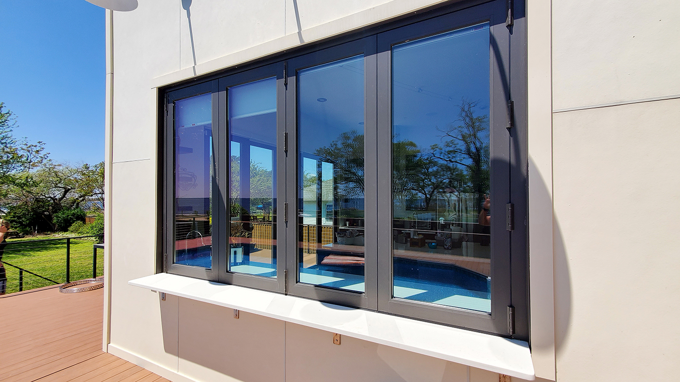 Bifold doors and windows