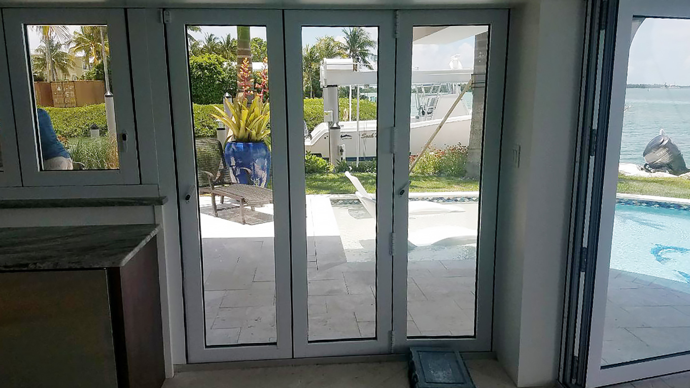 Bifold Doors and Folding Glass Window System