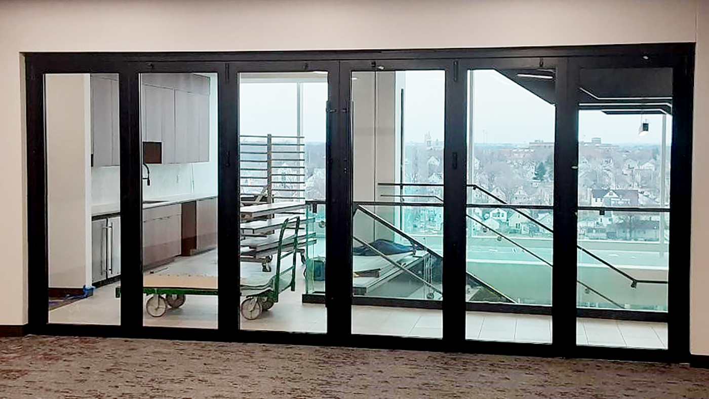 Three sets of bifold doors (two photographed)