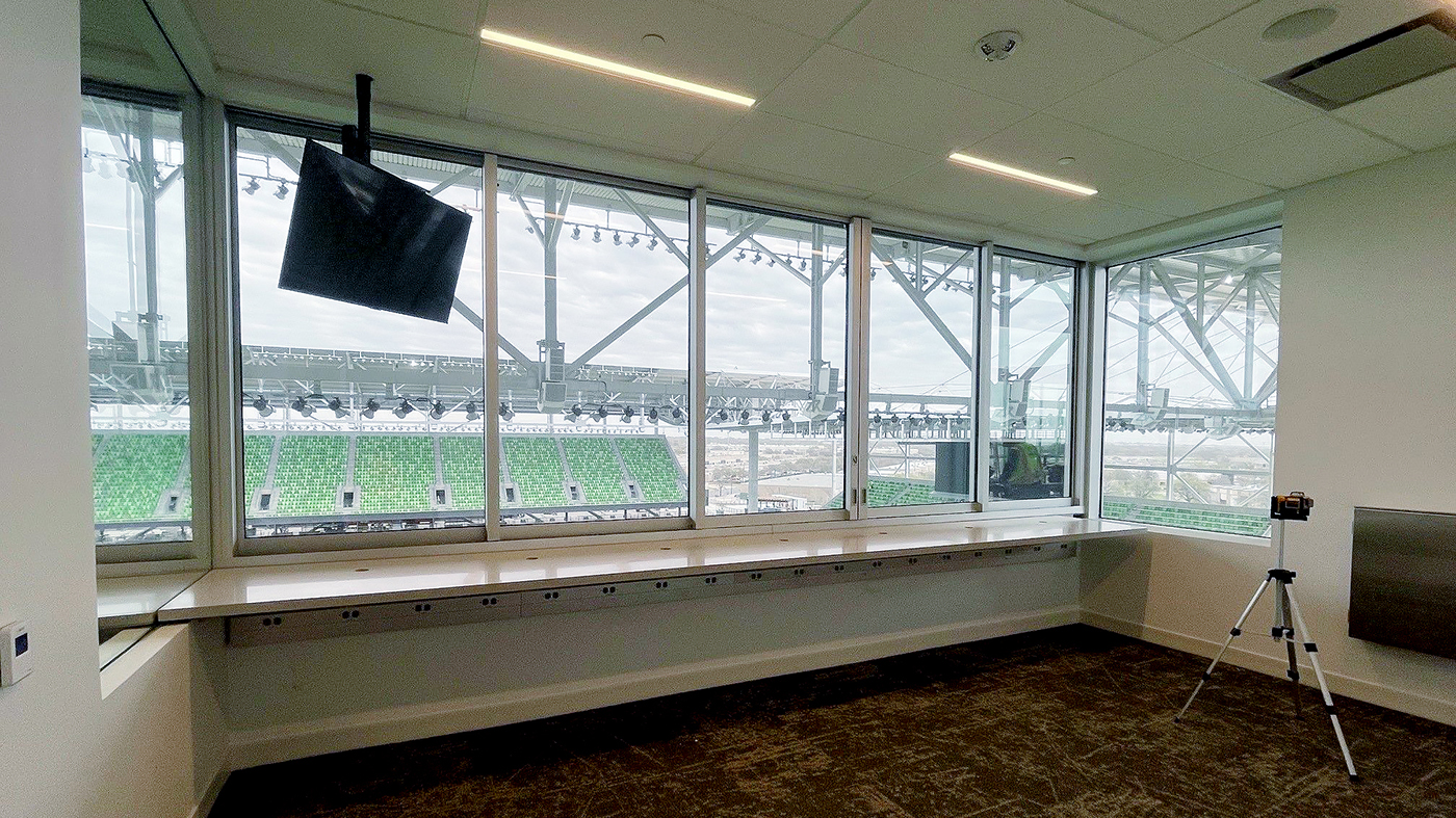 8 sets of Multi-Track Sliding Glass Window systems