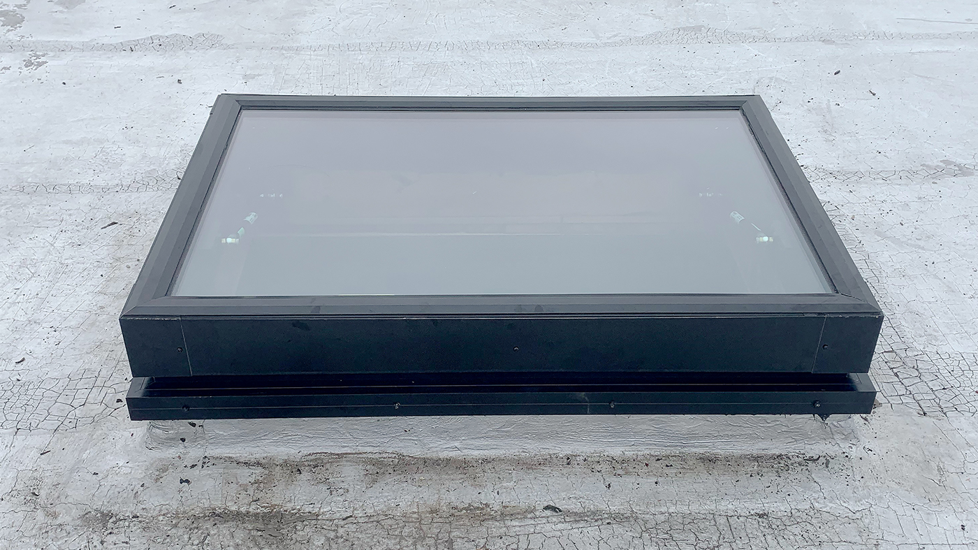 80-90 degree operable skylight