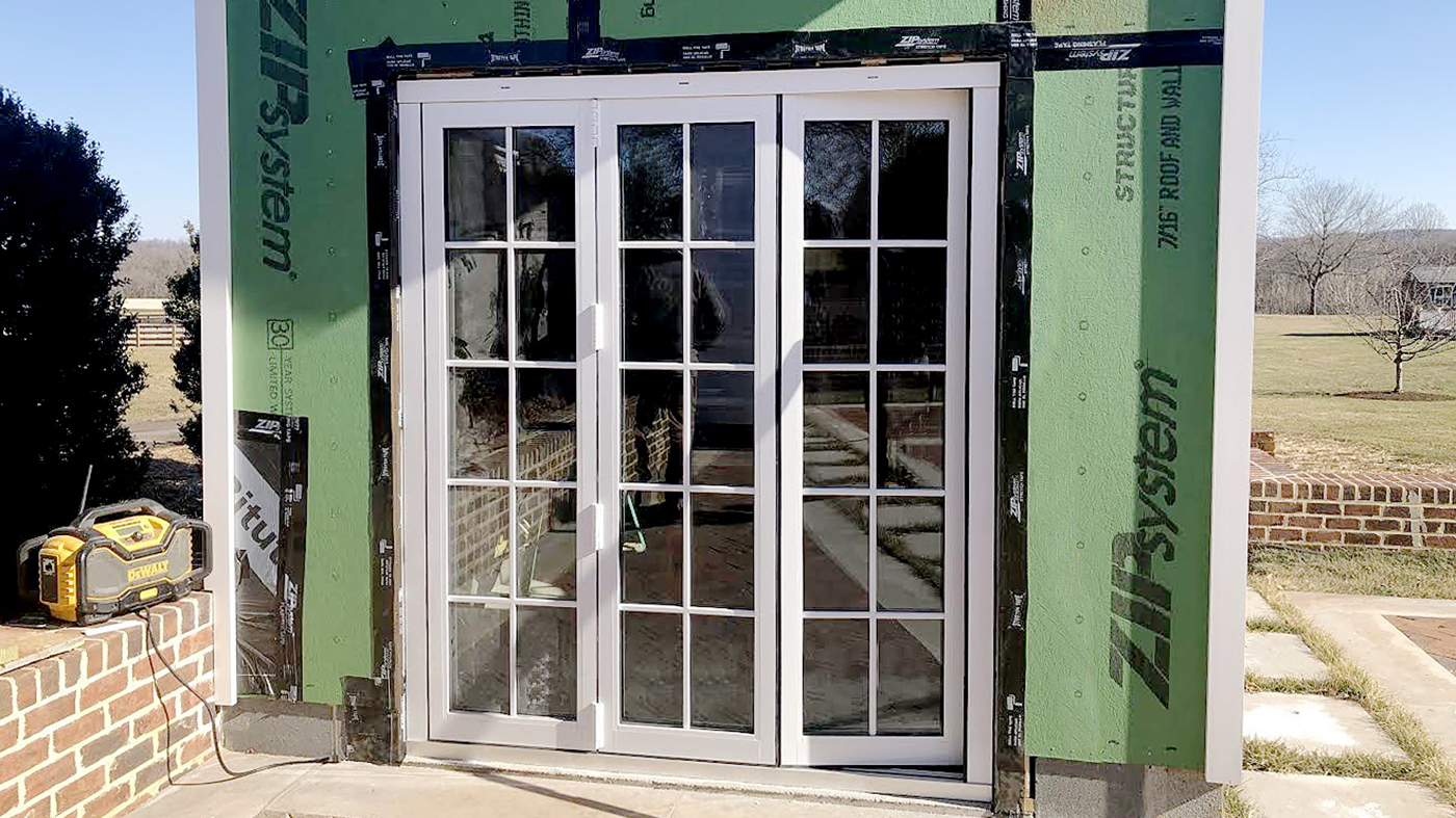 Narrow bifold doors