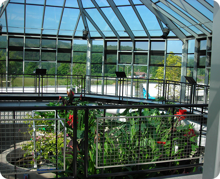 Commercial Greenhouse - Sharon Information Center