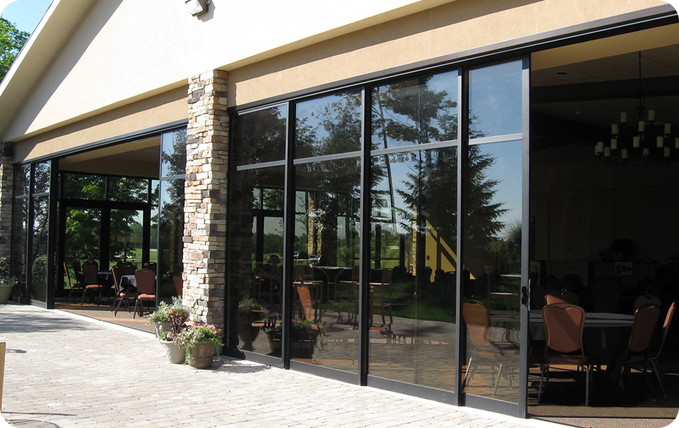 Commercial Sliding Glass Doors 964 x 608