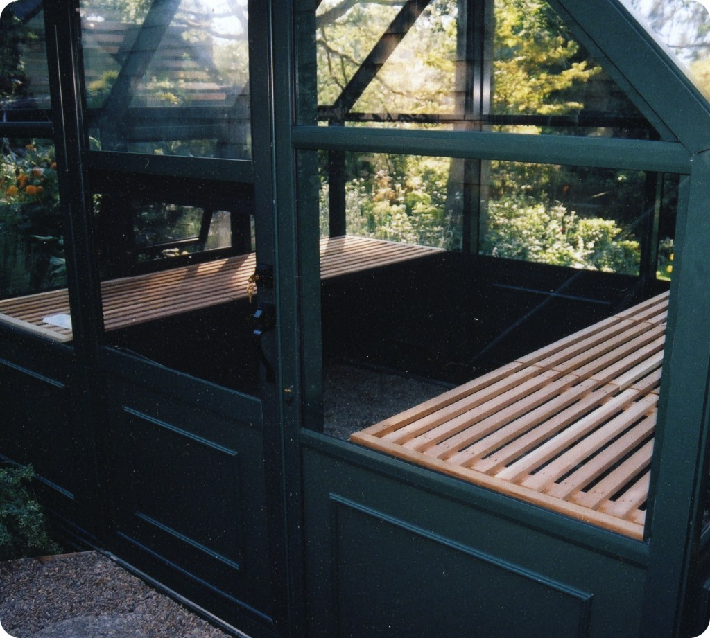 Henderson Hobby Greenhouse Interior