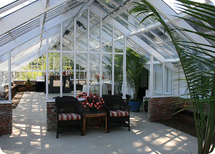 Interior Commercial Greenhouse