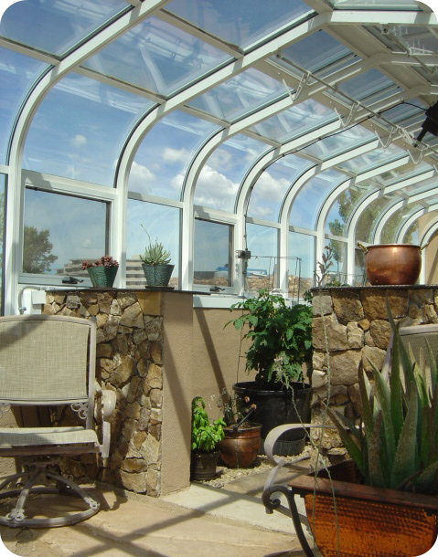Residential CEDP Interior Greenhouse