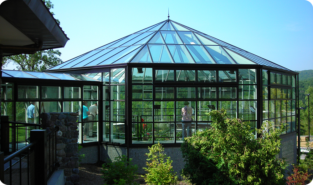 Commercial Greenhouses | Sharon Visitor Center
