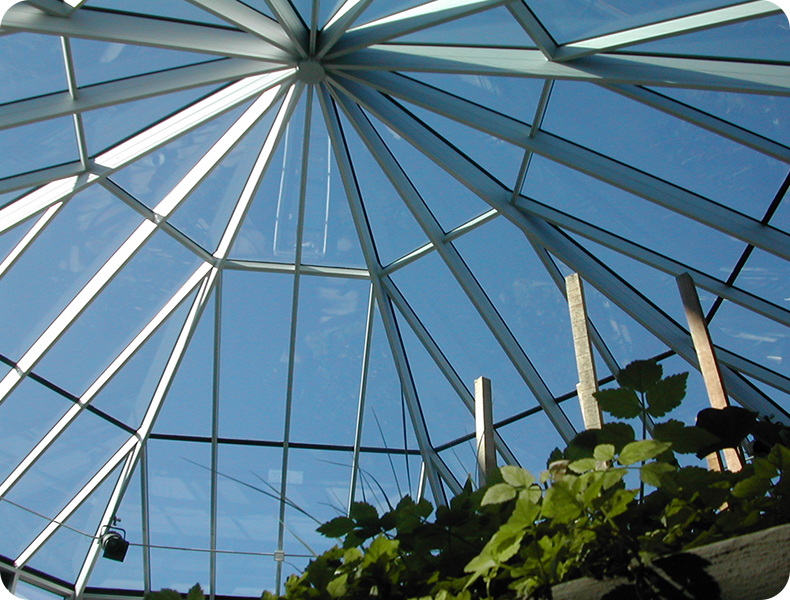 Sharon Visitor Center | Commerical Greenhouses Roof