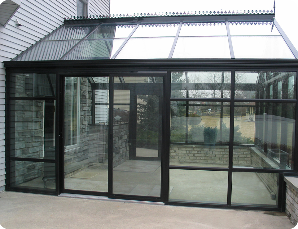 Solar Innovations Inc Sunroom Side Veiw