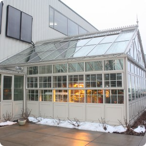 High Energy Greenhouse with Hydronic Heating System