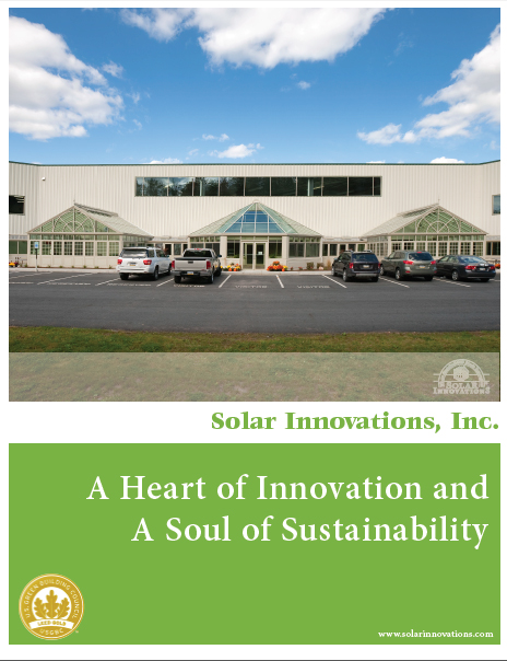 Solar Innovations Green Piece