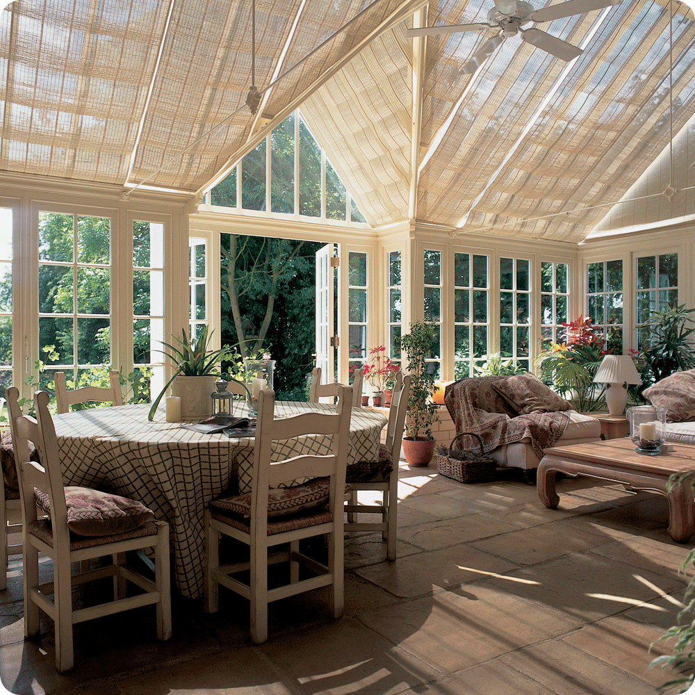 Conservatory Blinds by Solar Innovations