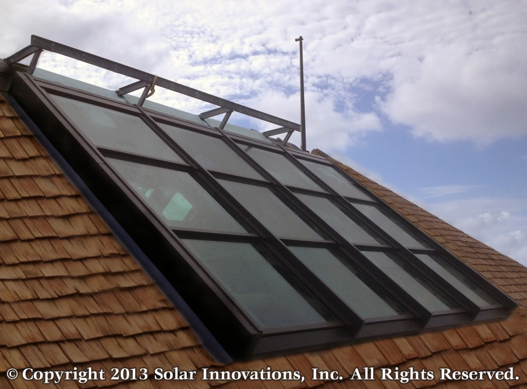Multi-panel RetractableSkylight