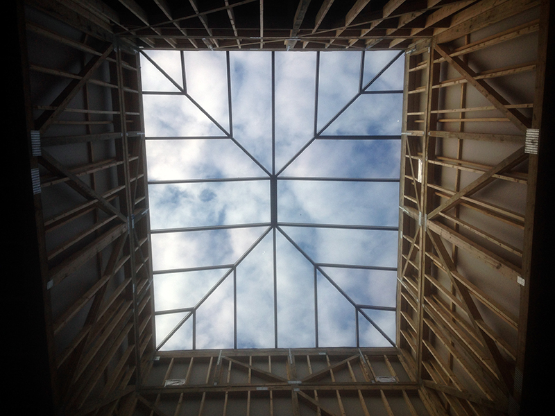 One Day Skylight Installation