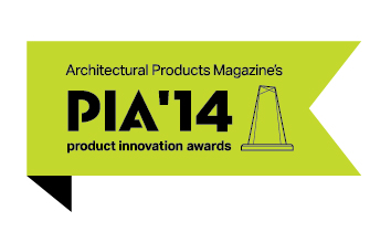 Architectural Products Magazine PIA '14 Product Innovation awards