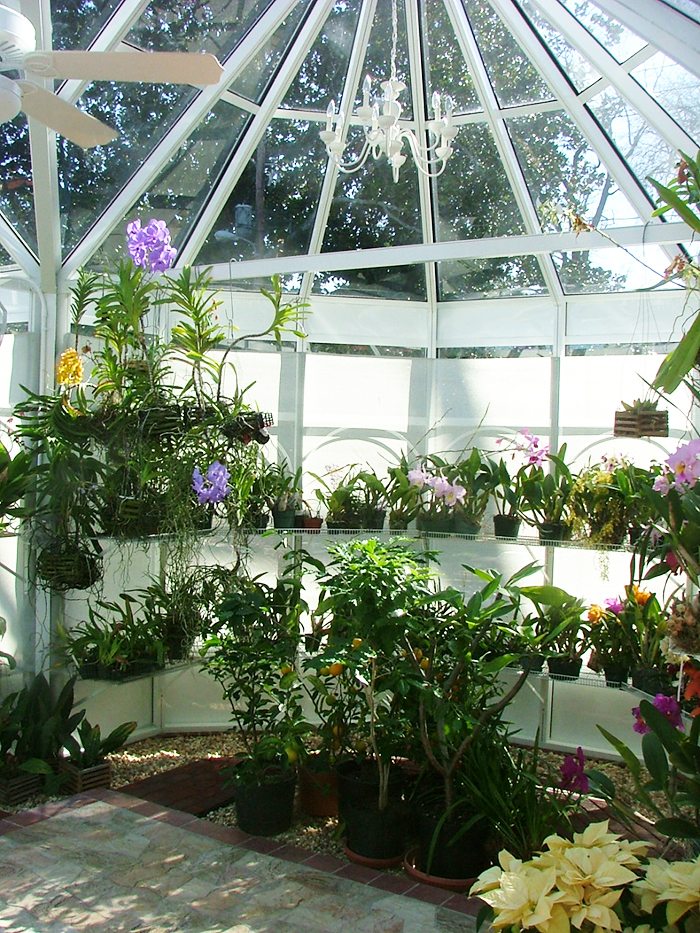 Growing Fruit and Flowers in a Greenhouse