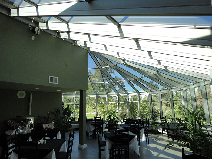 Utilizing a conservatory for formal events