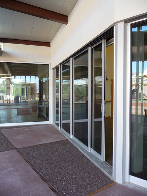 STC Acoustical Sliding Glass Door by Solar Innovations, Inc.
