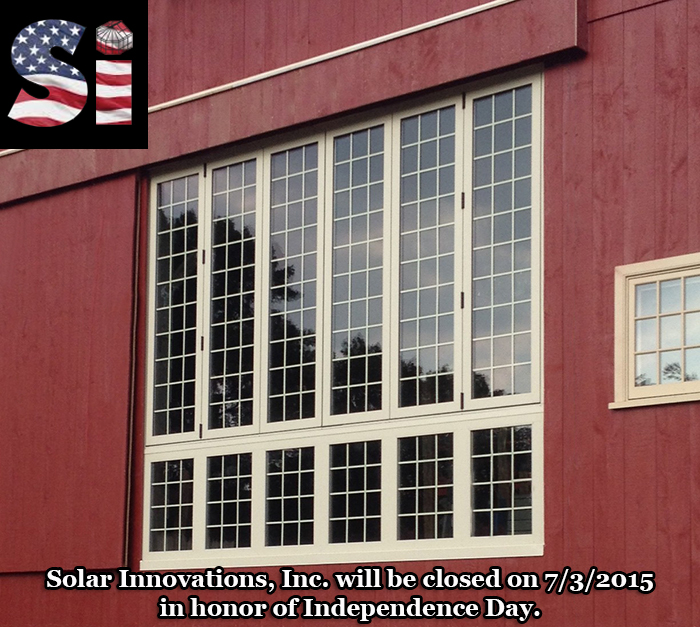 Independence Day recognition by Solar Innovations, Inc.