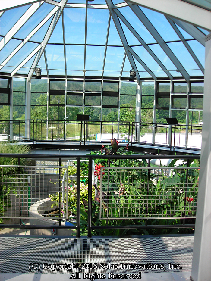 Solar Innovations, Inc. custom greenhouse example