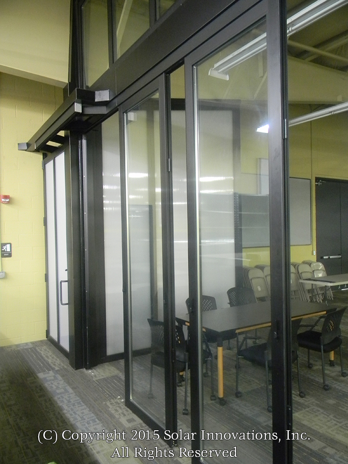 Solar Innovations, Inc. Stacking Glass Wall System