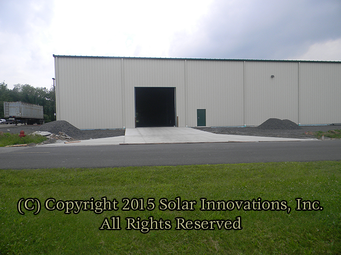Composite Vinyl manufacturing increase by Solar Innovations, Inc.