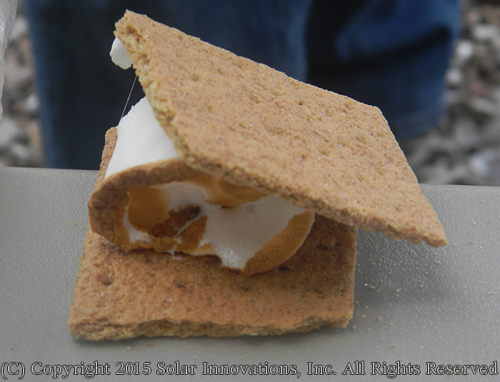 S'mores day at Solar Innovations, Inc.