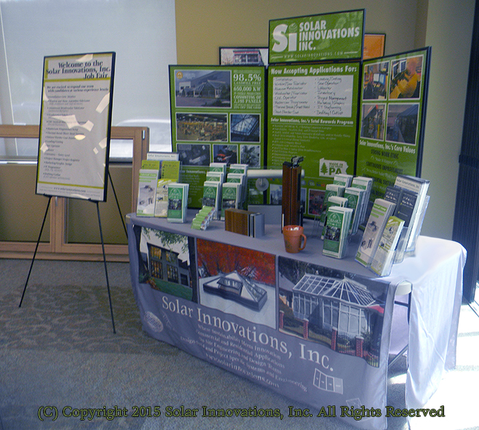 Solar Innovations, Inc. first job fair
