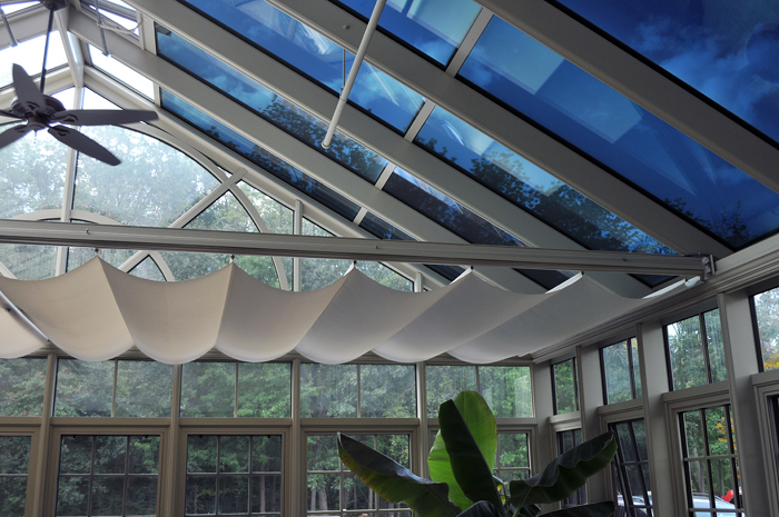 Wide Span Horizontal Shades by Solar Innovations, Inc.
