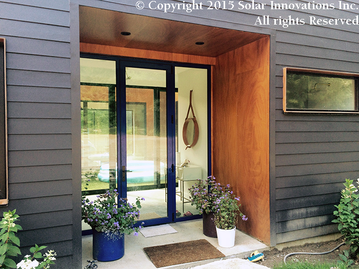G2 International Window system with complete glazing by Solar Innovations, Inc.